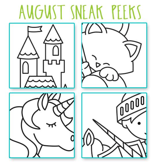 August Product SNEAK PEEK |  Newton's Nook Designs #newtonsnook