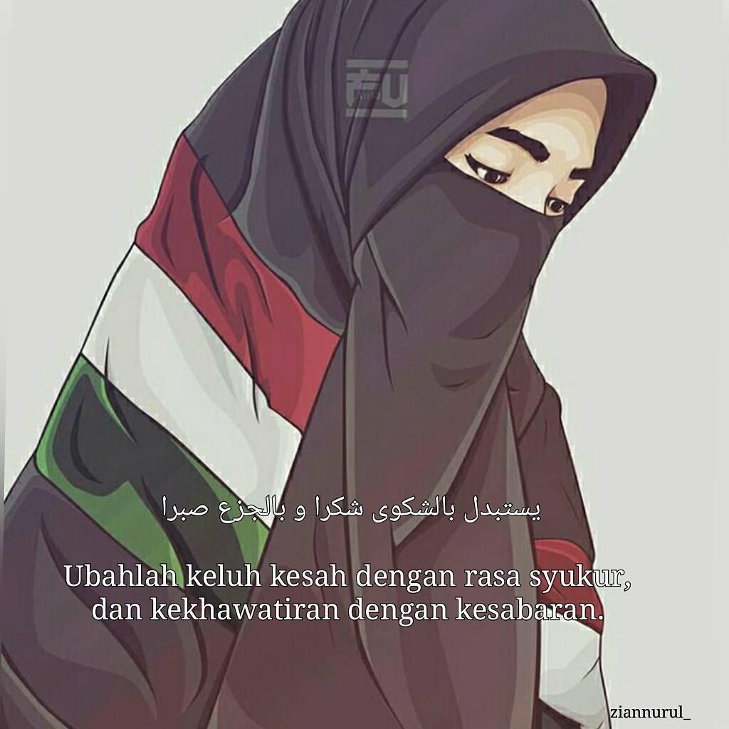 Wallpaper Muslimah Bercadar Animasi  Bestpicture1org