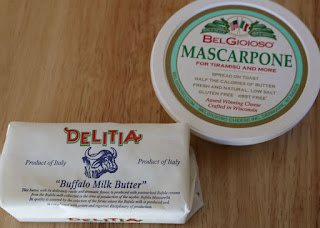 Delita Buffalo Milk Butter and Bel Gioioso Mascarpone Cheese