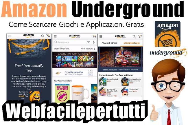 Come Installare Amazon Underground e Scaricare Giochi e Applicazioni Gratis