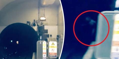 Penampakan Hantu Terowongan Kereta Bawah Tanah Gemparkan London