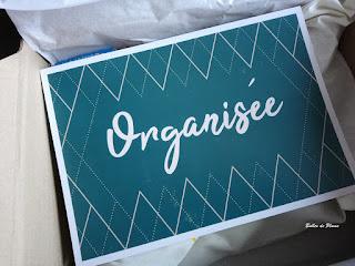 Bulles de Plume Box Pause Moderne L'Organisée janvier 2019