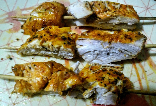 Easy Tasty Delicious, Juicy Grilled Chicken Breasts
