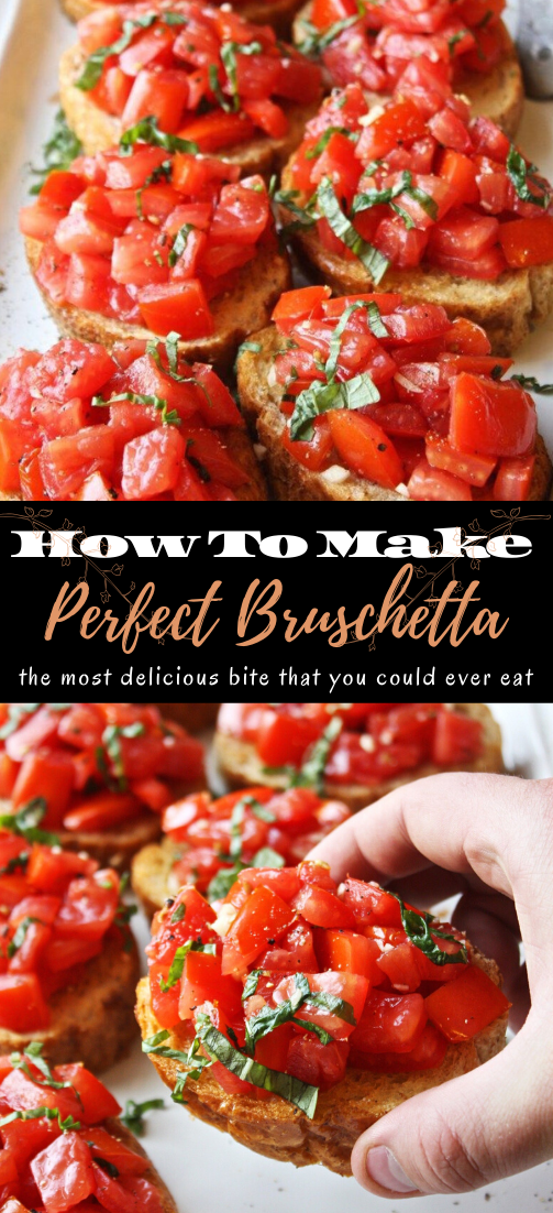 Perfect Bruschetta #healthyfood #dietketo #breakfast #food