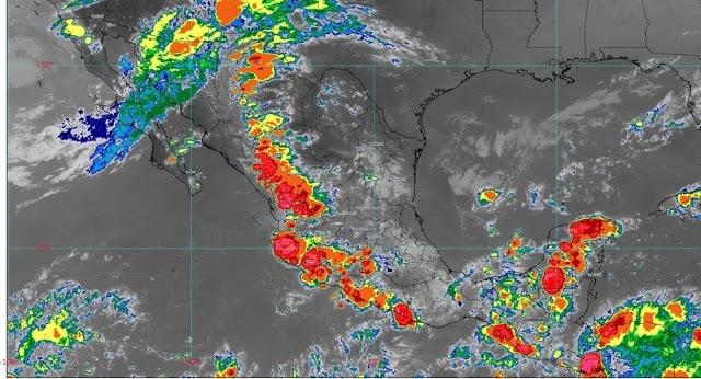 *Se prevén lluvias en Acapulco por entrada de humedad del Pacífico