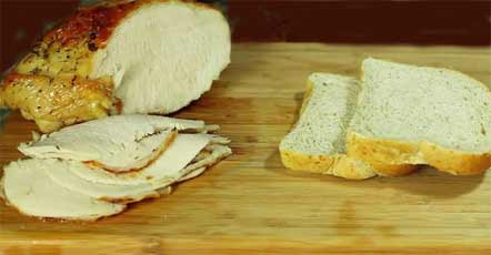 хлеб индейка соус