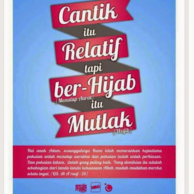 dp bbm hijab syar'i nasehat