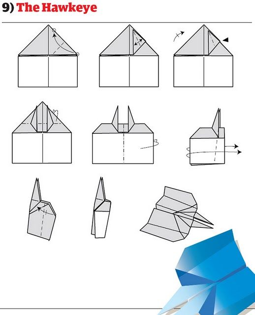 How to Build Cool Paper PlanesHow To Make Cool Paper Airplane Designs