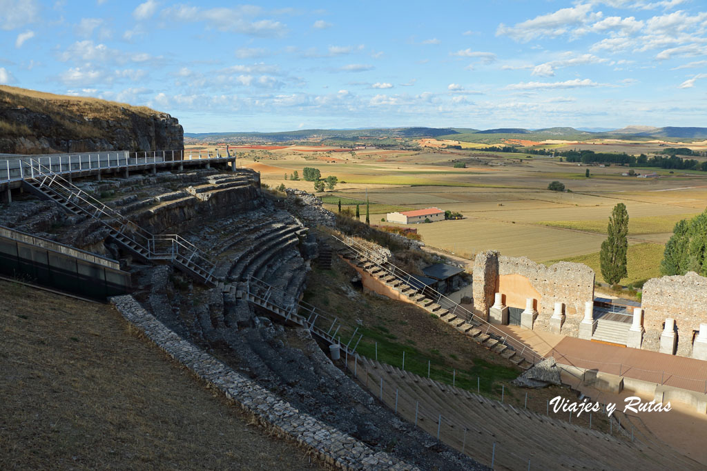 Teatro romano de Clunia Sulpicia