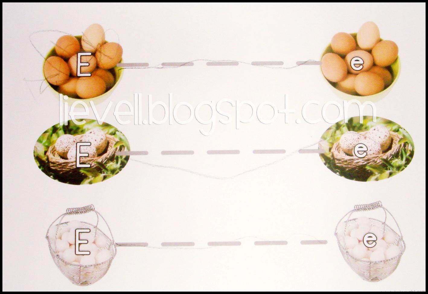Simply Hood Tracing Eggs