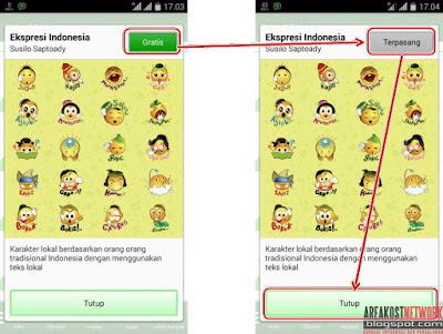 Cara Mendapatkan Stiker BBM Gratis Untuk Android