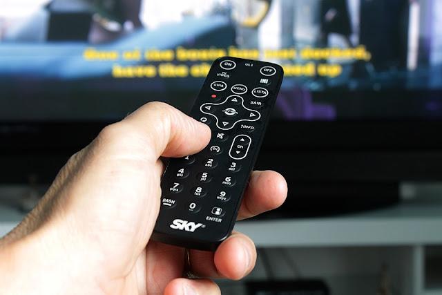 Ponsel sebagai remote tv