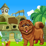 G4K Chow Chow Dog Rescue Game