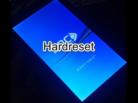 Cara Hard reset Tablet SPC P5 Nitro