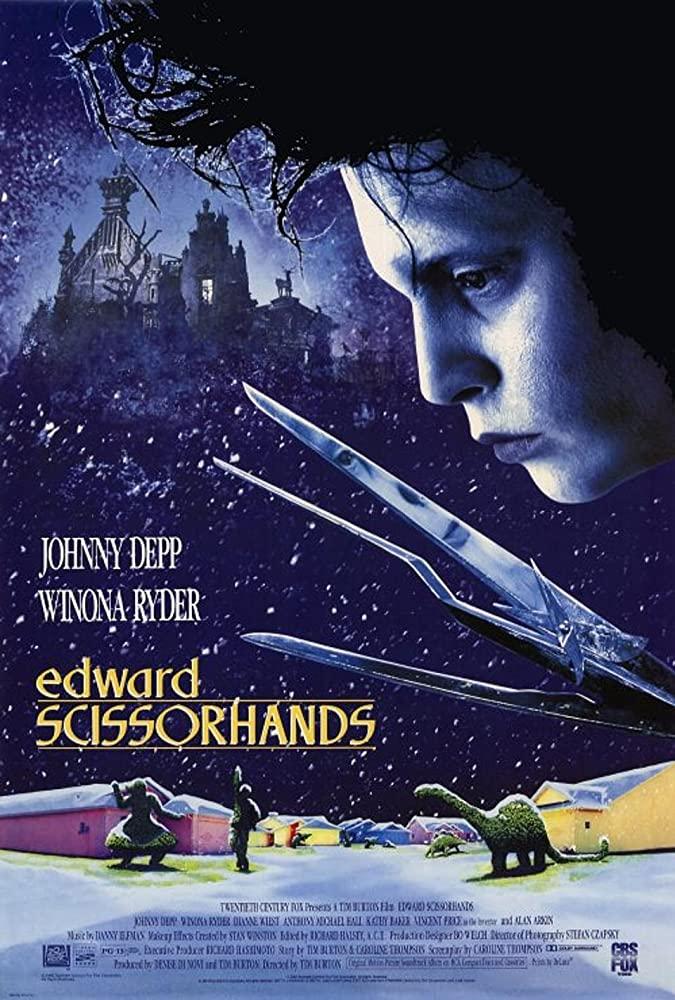 Edward Mãos de Tesoura Torrent Thumb