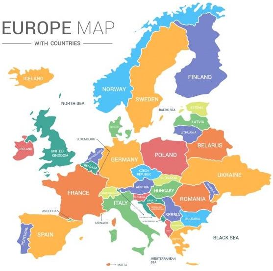"""Benua Eropa : Batas Wilayahnya Dan Pembagian Wilayahnya Apa Itu Benua ? Benua adalah dataran luas yang berada di permukaan bumi. Luas daratan benua lebih besar dari pulau. Bumi ini secara umum memiliki 5 Benua yang diantaranya : Benua Asia Benua Australia Benua Amerika Benua Afrika Benua Eropa Namun kali ini artikel ini akan membahas mengenai Benua Asia, untuk bisa mengetahui dengan lebih lanjut silahkan disimak dengan sabagai berikut ini.  Batas Wilayahnya Batas-batas wilayah pada Benua Eropa adalah sebagai berikut : Sebelah Utara : Laut Arktik Sebelah Timur : Pegunungan Ural Sebelah Selatan : Laut Tengah dan Laut Hitam Sebelah Barat : Samudra Atlantik  Pembagian Wilayahnya Benua Eropa terbagi menjadi empat kawasan yang diantaranya adalah Eropa Barat, Eropa Utara, Eropa Selatan, dan Eropa Timur. Eropa Barat Meliputi Negara Belgia, Belanda, Jerman, Inggris, Perancis, dan Swiss. Eropa Utara Kawasan ini disebut Skandinavia yang meliputi Negara Swedia, Finlandia, Denmark, dan Norwegia. Eropa Selatan Meliputi Negara Italia, Portugal, Spanyol, dan Austria. Eropa Timur Negara-negara yang masuk dalam kawasan ini adalah Polandia, RepublikCeko, Rumania, Slowakia, Bulgaeria, Hongaria, dan Albania.   Nah itu dia bahasan dari Benua Eropa beserta batas wilayahnya dan pembagian wilayahnya. Melalui bahasan di atas bisa diketahui mengenai batas dan pembagian wilayah dari Benua Eropa. Mungkin hanya itu yang bisa disampaikan di dalam artikel ini, mohon maaf bila terjadi kesalahan di dalam penulisan, dan terimakasih telah membaca artikel ini.""""God Bless and Protect Us"""""""
