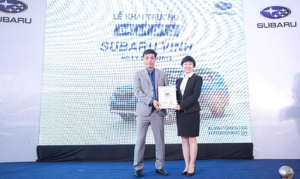 Subaru khai trương đại lý chuẩn 3S tại Vinh