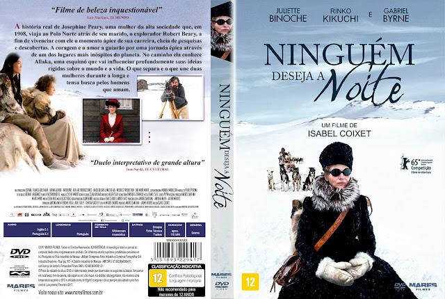 Capa DVD Ninguém Deseja A Noite