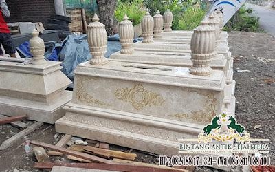 Kuburan Marmer Tulungagung, Pusara Marmer Murah