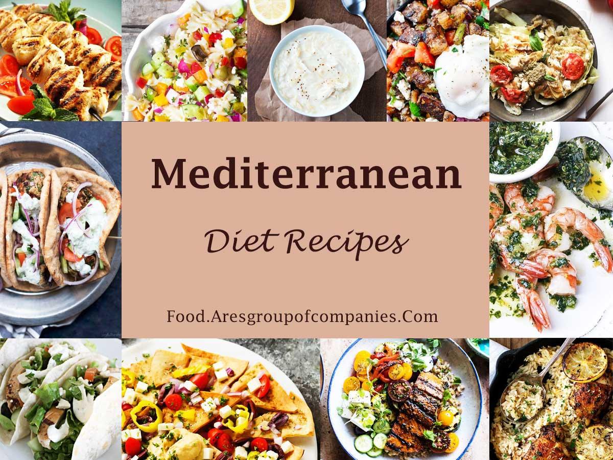 মেডিটেরানিয়ান ডায়েট রেসিপি | Easy Mediterranean Diet Recipes