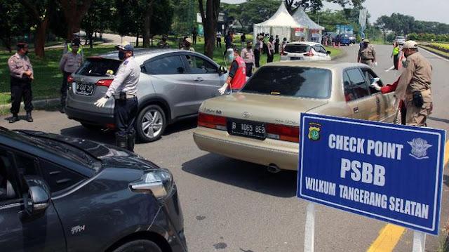 PSBB Banten Diperpanjang Hingga Tanggal 14 Juni