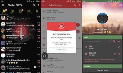BBM Delta v4.3.0 Base 3.3.2.31