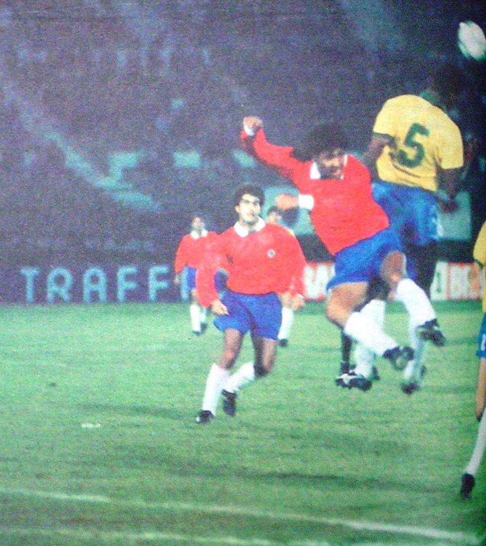 Chile y Brasil en Copa Expedito Teixeira, partido de ida