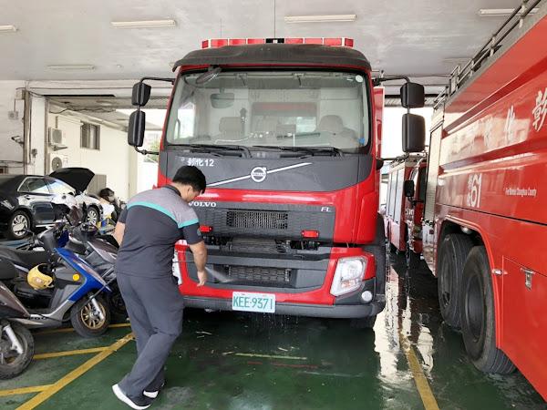 水情告急!彰化縣消防局超前部署消防車送水服務
