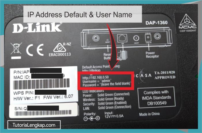 Tutorialengkap 1 Cara Setting Access Point D-Link DAP-1360 Sebagai Pemancar Wifi
