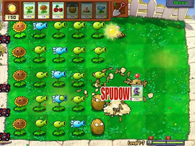 تحميل لعبة النباتات ضد الزومبي  للكمبيوتر