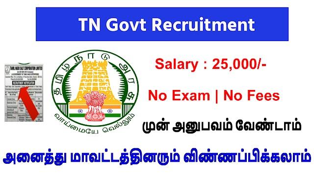 Tn Govt Recruitment 2021