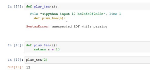 Unexpected EOF while parsing — Here is what it means