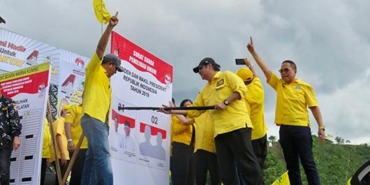 Ketum Golkar Pede Jokowi-Ma'ruf Amin Raup 60 Persen Suara di Kalsel