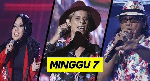 Live Streaming Gegar Vaganza 7 Minggu 7