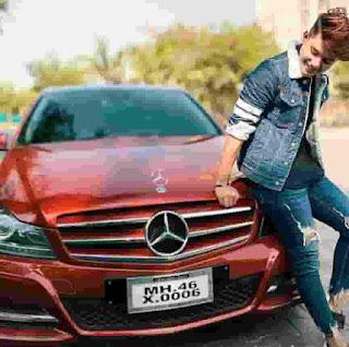 Riyaz Aly With Mercedes
