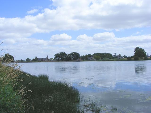 Etang (dam) du Louroux. Indre et Loire. France. Photo by Loire Valley Time Travel.