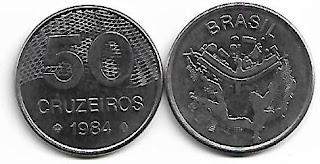 50 Cruzeiros, 1984