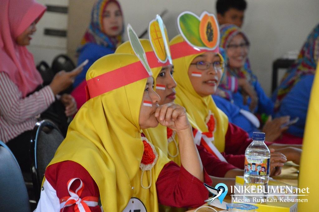 Meriahnya Jambore Kader Posyandu di Kebumen
