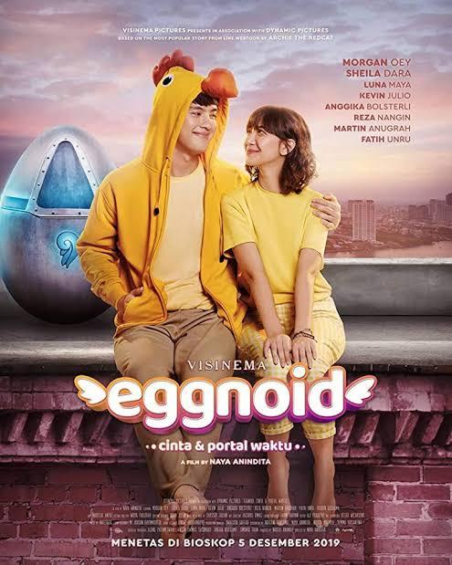 Eggnoid: Cinta & Portal Waktu (2019) WEBHD