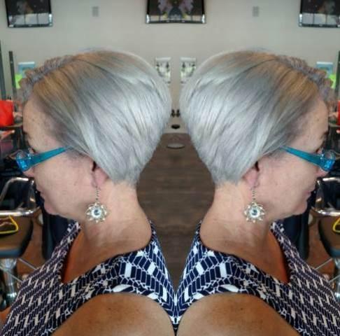Potongan Rambut Licin