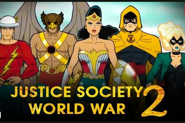 FILM - Justice Society World War II 2021 Subtitle Indonesia