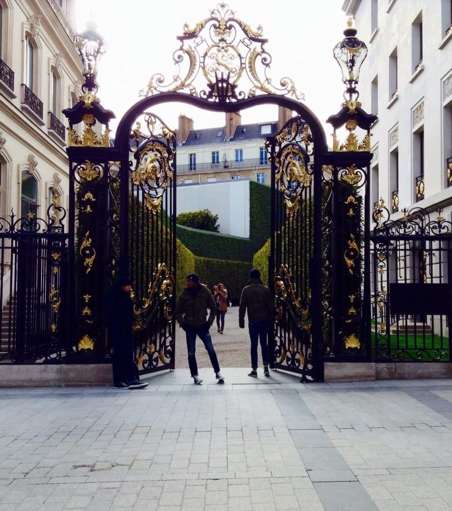 France Paris Champs-Elyees Front View