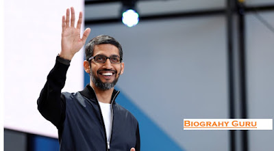 Sundar Pichai - Biograhy Guru, Sundar Pichai Education, Age, Wiki, Net Worth, Google Owner.