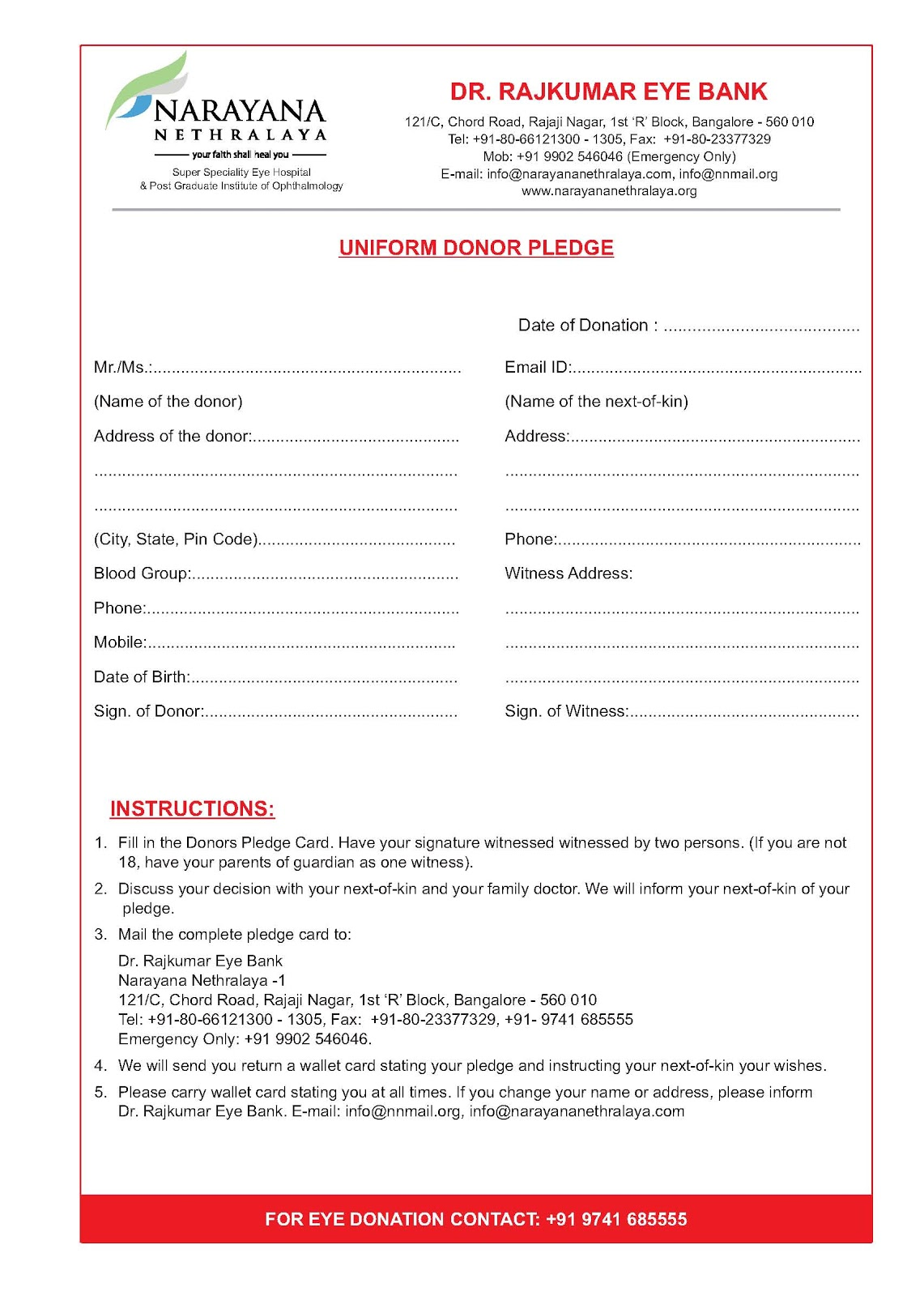 Pledge Form Template donation pledge log template for excel excel – Fundraising Forms Templates