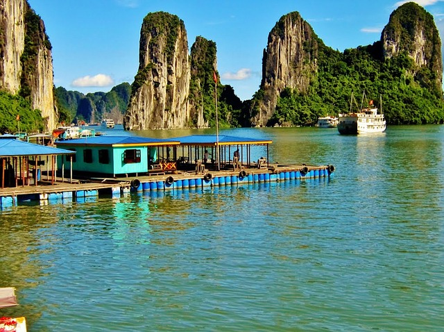 Vung Vieng Floating Village, Water World, Water Villages, Water Village Halong Bay,
