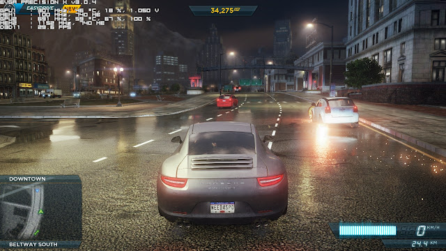 Need for Speed Most Wanted 2012 PC Game Free Download Gameplay 1