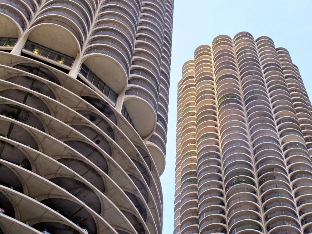 Marina City, the corn cobs, Chicago architecture