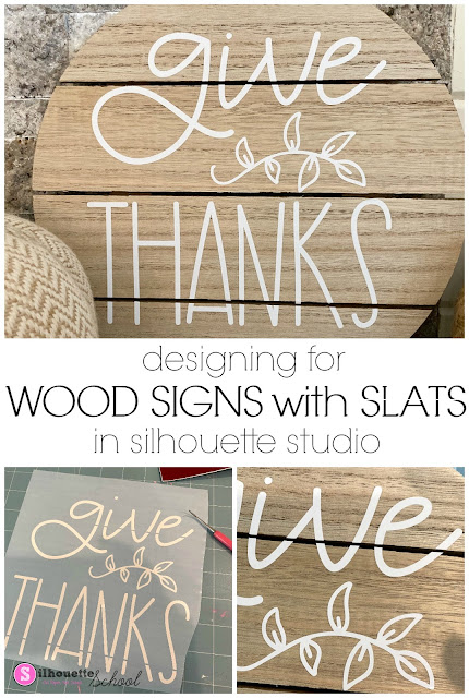 silhouette 101, silhouette america blog, wood signs, Adhesive vinyl, Custom wood signs