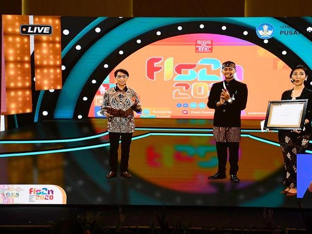Provinsi Jawa Barat Raih Posisi Kedua Festival dan Lomba Seni Siswa Nasional 2020