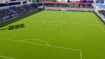 PES 2021 Stadium Sydbank Park AddOn by Endo